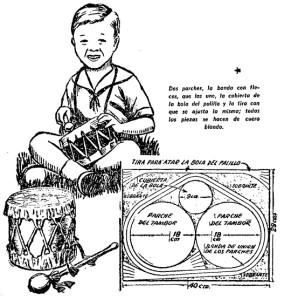 como hacer un tambor