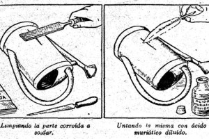 Como hacer una BUENA SOLDADURA (estaño y plomo)