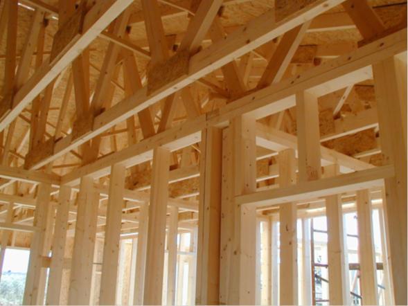 Materiales para techos de casas de madera