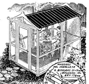 como  hacer una casita para el jardin 1