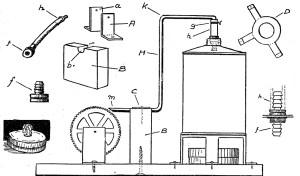 Como hacer una MAQUINA DE TURBINA a vapor 5