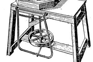 construccion de un torno de alfarero 1