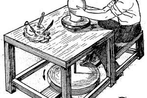 Como hacer - El TORNO DEL ALFARERO 1
