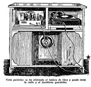 gabinete para radio y tocadiscos 2