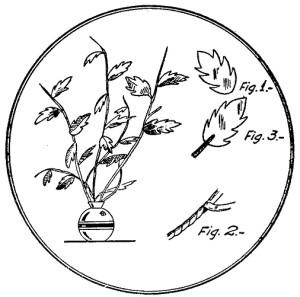 hojas artificiales decorativas 1