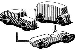 juguetes macizos de madera