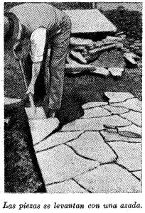 lajas para pisos - como colocar lajas - lajas de cemento