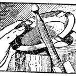Como hacer – El METAL trabajado a MARTILLO (1 de 2)