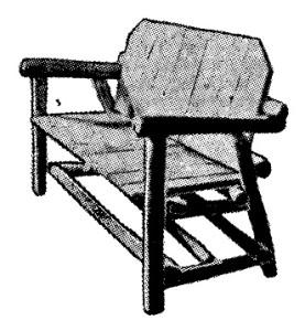 muebles rusticos para el jardin 2