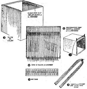 Como hacer un telar para tejer